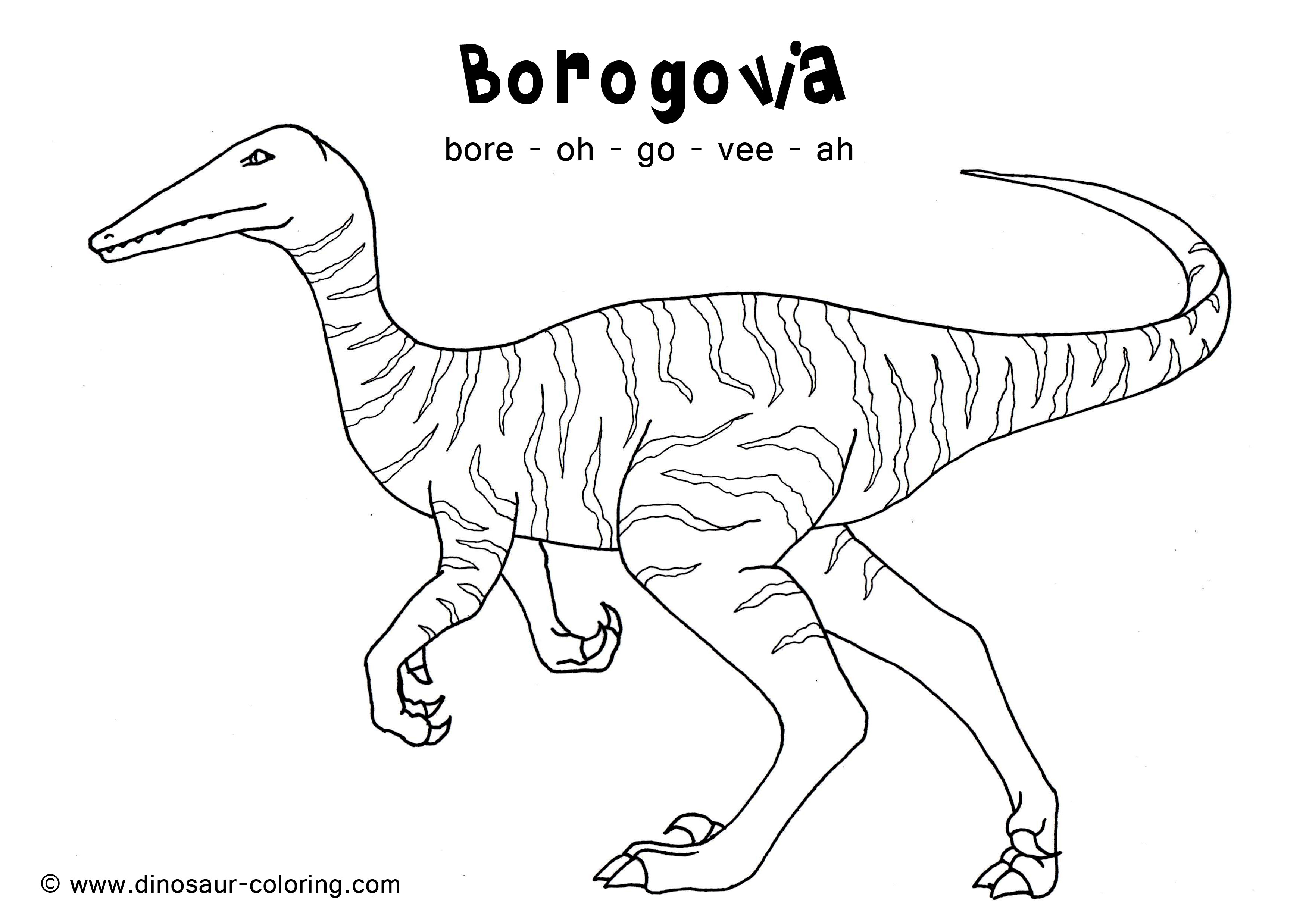 herbivore dinosaur coloring pages - photo#23