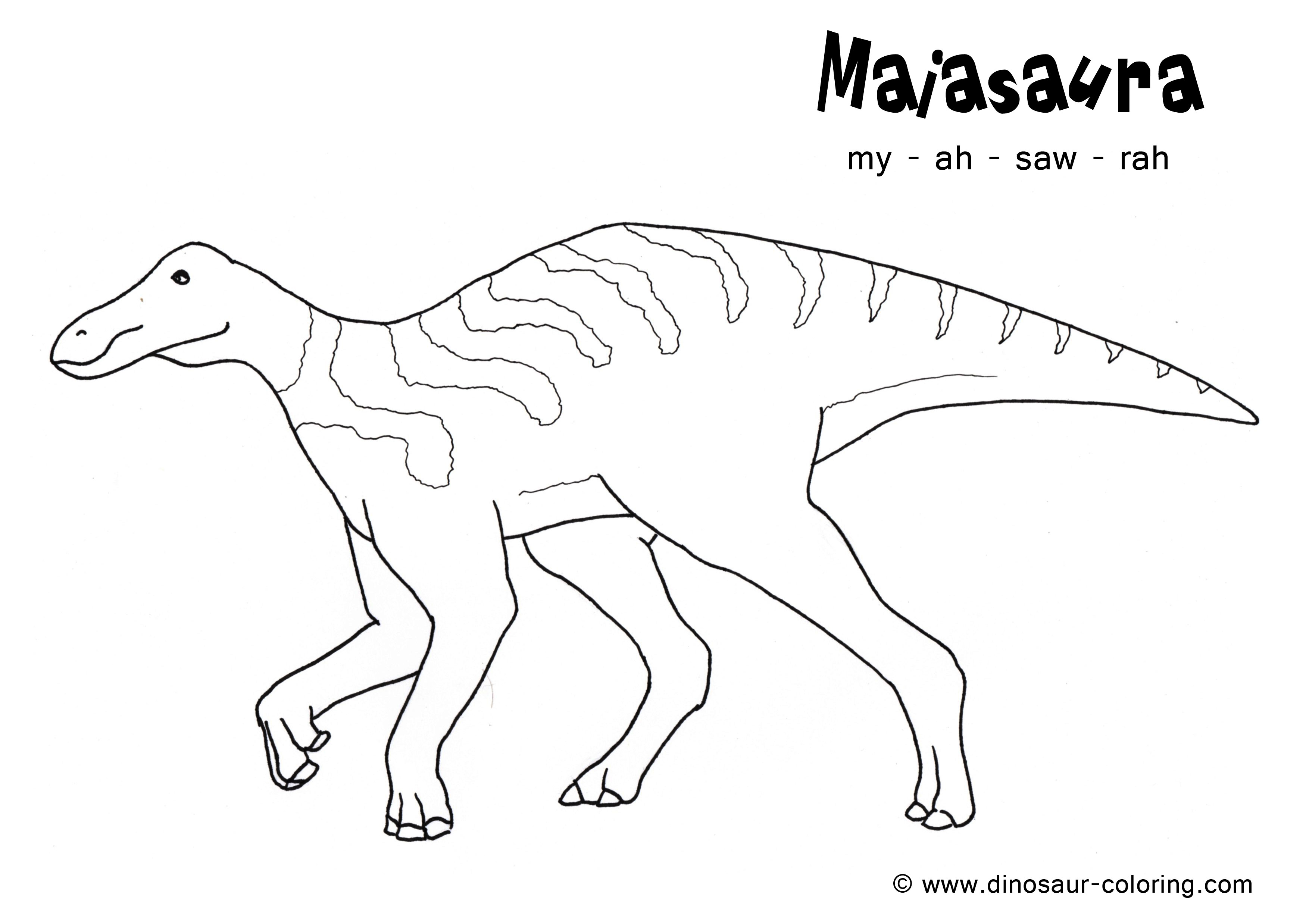 dinosaur facts and coloring pages - photo#44