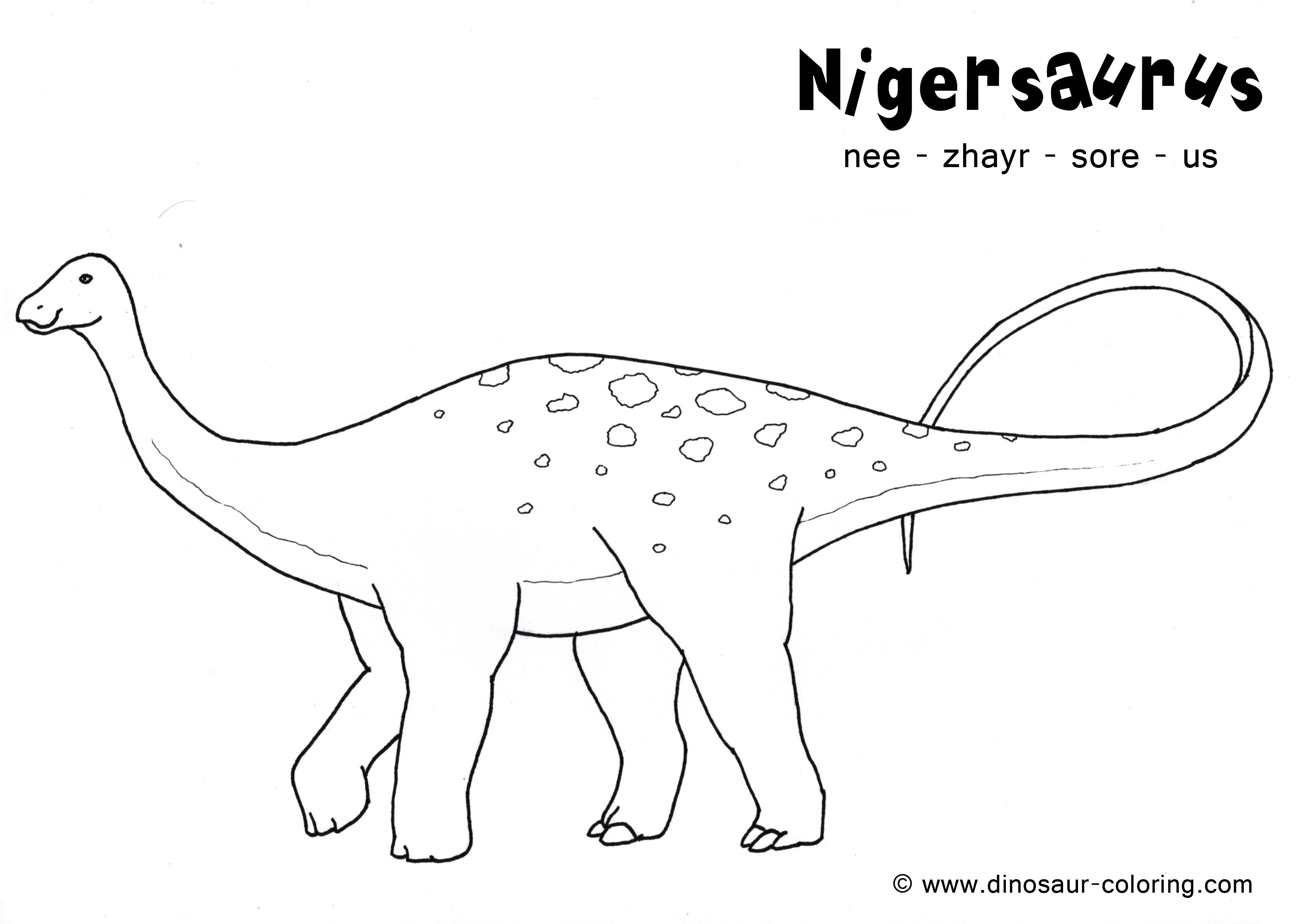 Free Dinosaur Fossils Coloring Pages