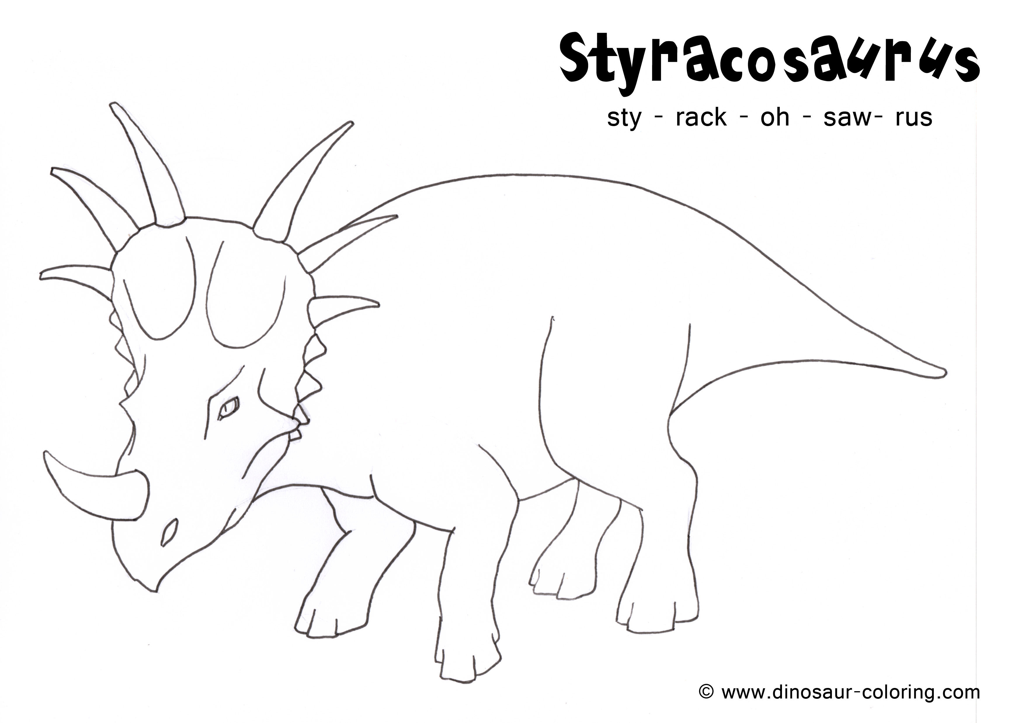 herbivore dinosaur coloring pages - photo#28